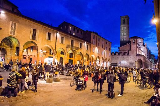 Night in Bologna