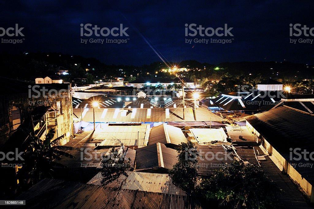 Übernachtung in der Karibik Stadt – Foto