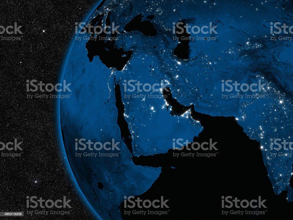 Übernachtung im Nahen Osten – Foto