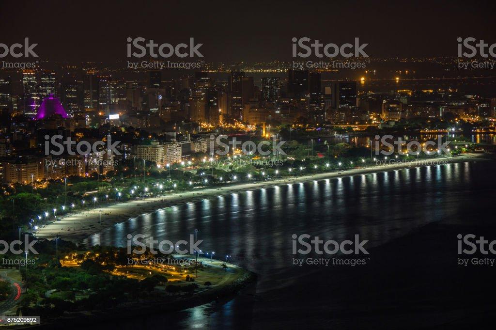 Night in Rio stock photo