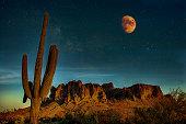 istock Night in the Desert 1219368528