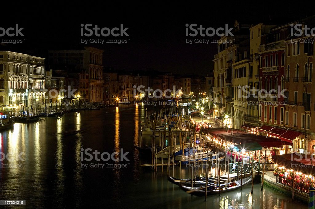 Night in Venice. royalty-free stock photo