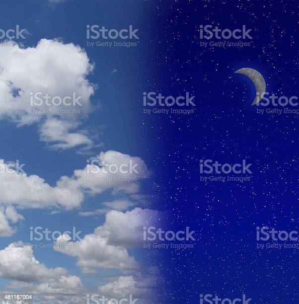 Photo of Night into day