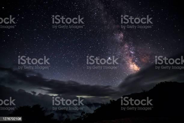 Photo of Night landscape at highlands forest