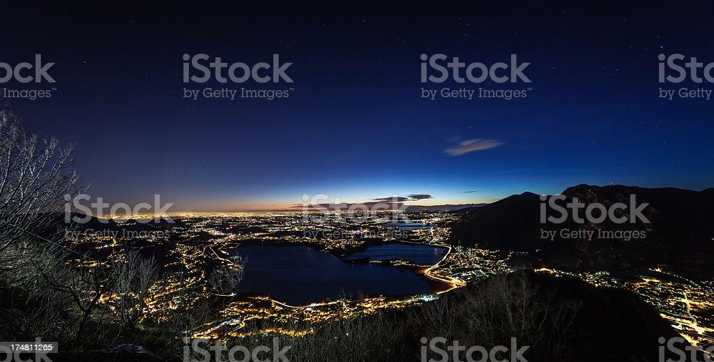 Night Landscape royalty-free stock photo
