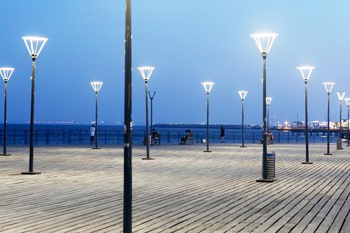 Night led street lights