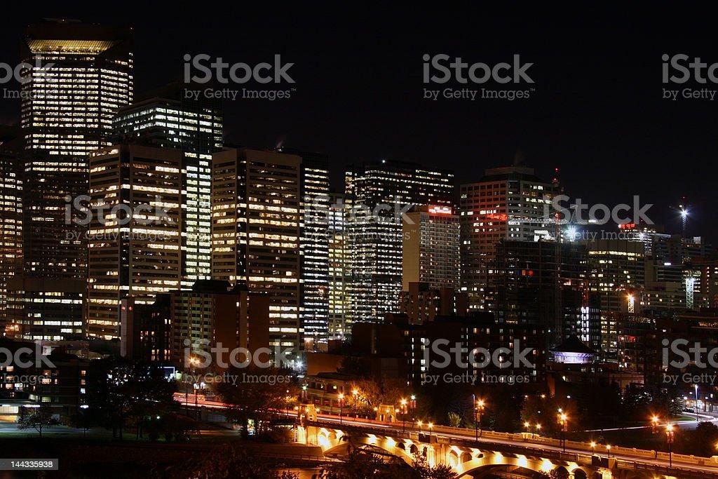Night life, royalty-free stock photo