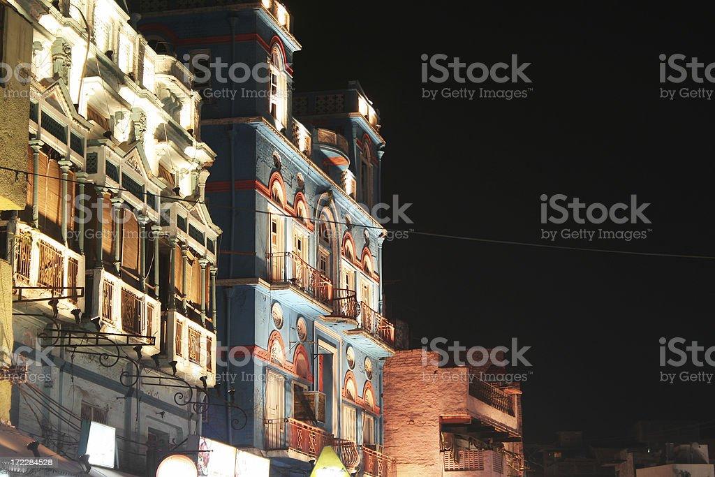 Night life royalty-free stock photo