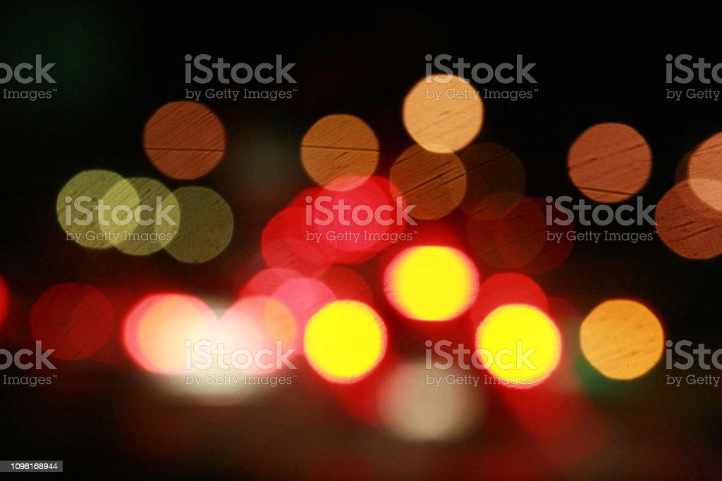 Night Light Background Stock Photo - Download Image Now