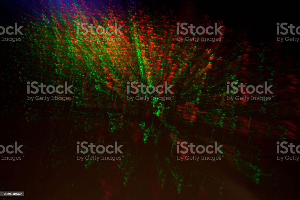 night light colorful abstract background stock photo