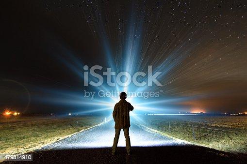 istock Night light Iceland 479814910