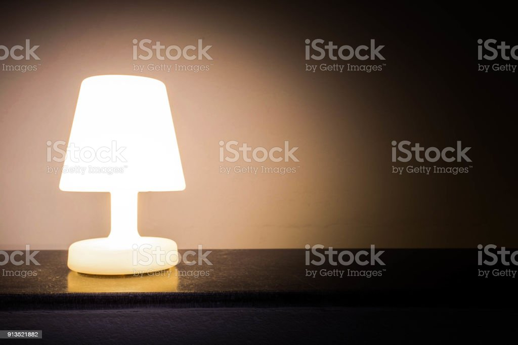 Nacht Lampe dunkel Schatten – Foto