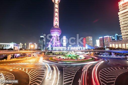 544101220 istock photo Night Lights Of Shanghai 1144337498