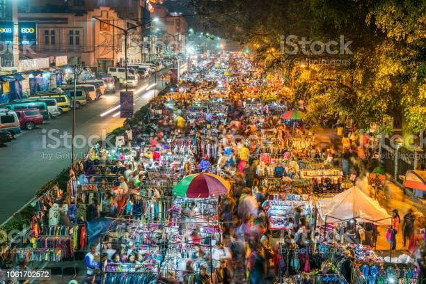 Night Market along Harrison road in Baguio City