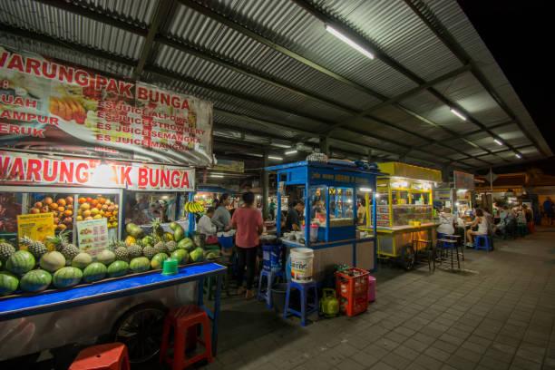 Nachtmarkt von Bali – Foto