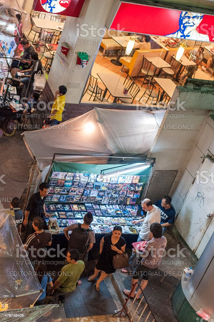 Night Market stock photo