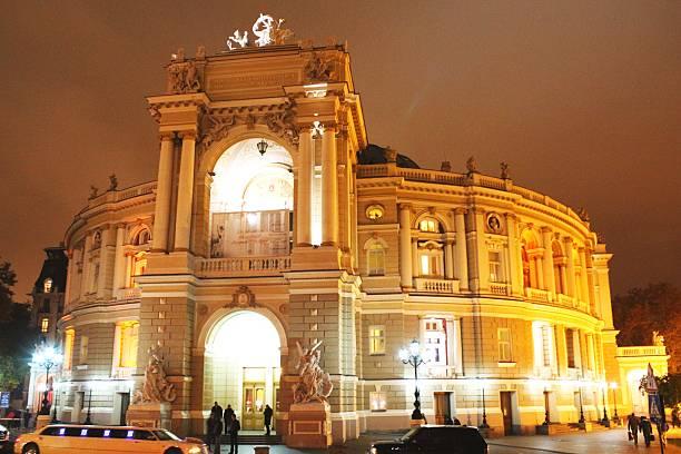 nacht odessa oper - schmidt theater stock-fotos und bilder