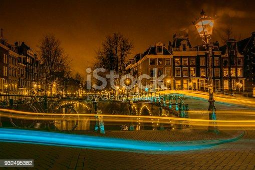 istock Night of Amsterdam 932495382