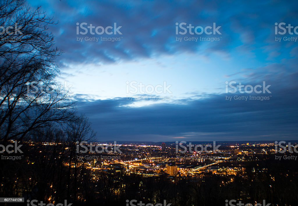 Night of bethlehem stock photo
