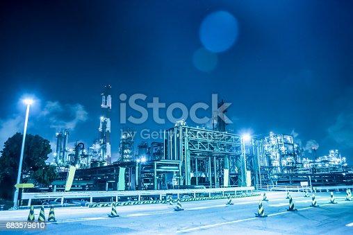 Night view of Yokkaichi Complex