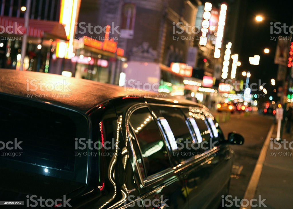 Night Out On Town stock photo