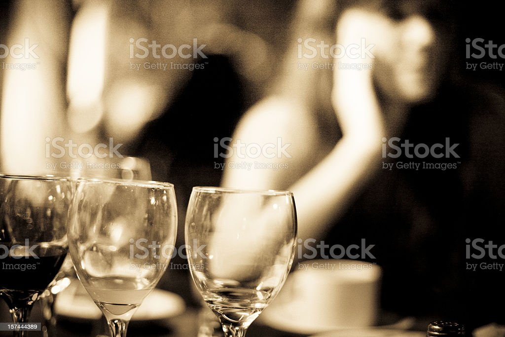Night out royalty-free stock photo