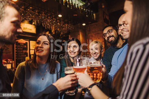 933516938 istock photo Night out with friends 933561006