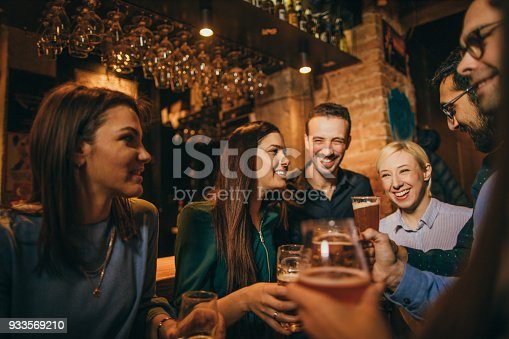 istock Night out with friends 933569210