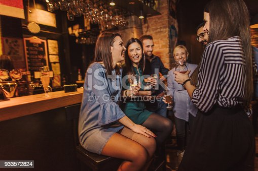 istock Night out with friends 933572824