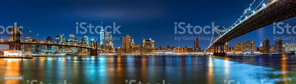 Night panorama with the