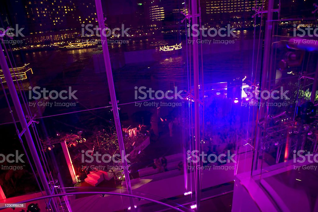 Night party royalty-free stock photo