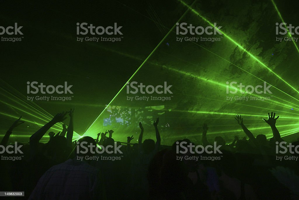 Night party royalty-free stock photo