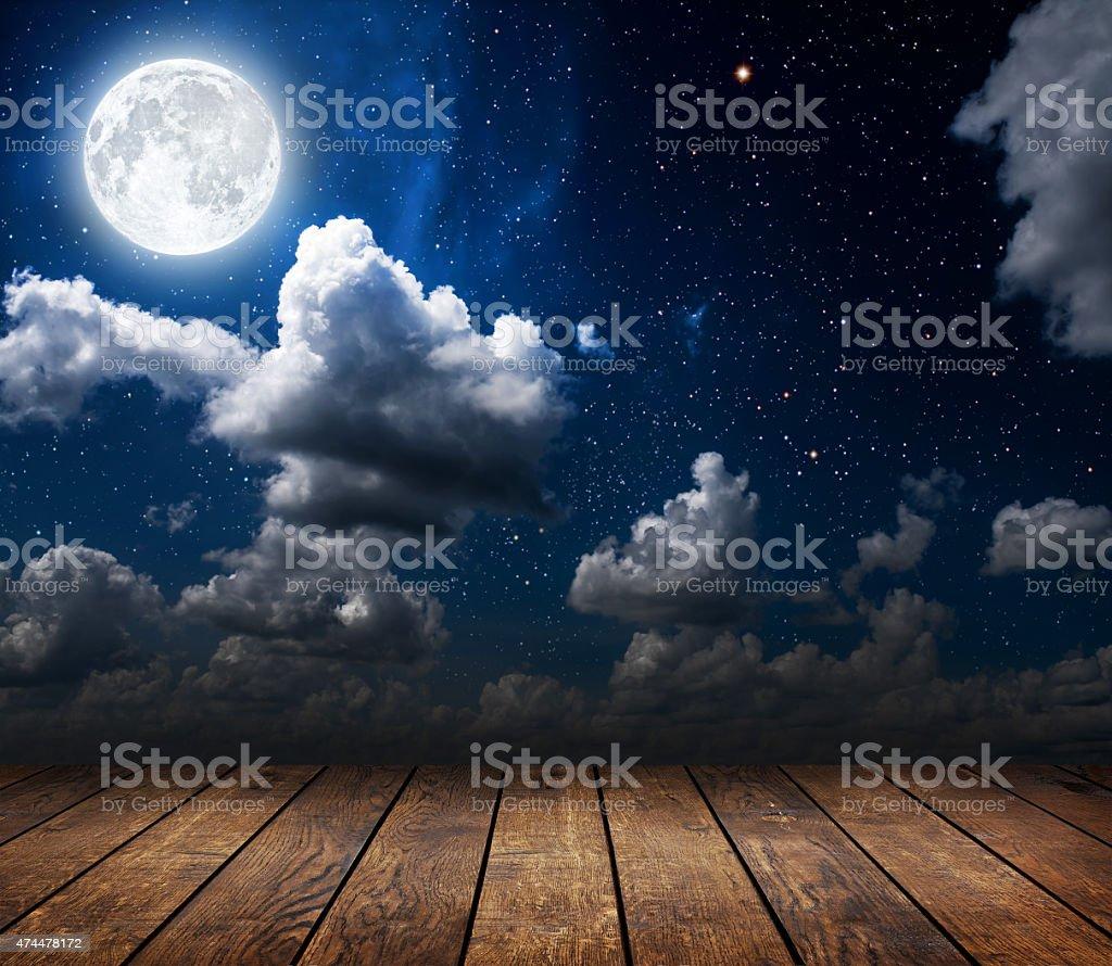 night stock photo
