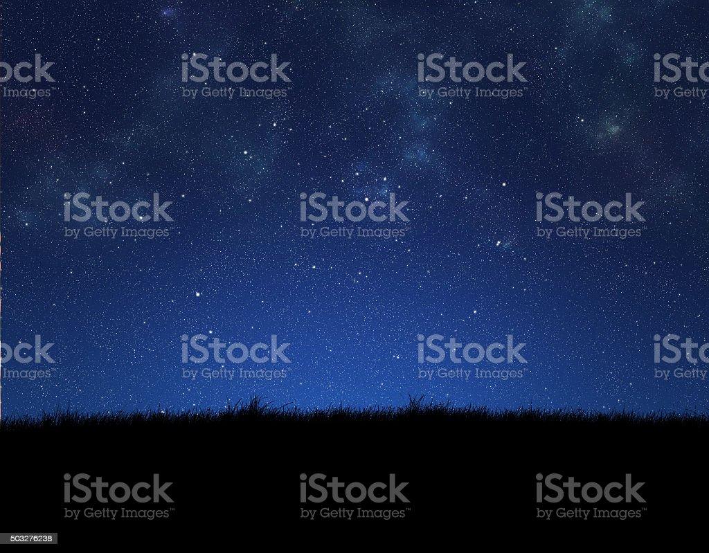De noite - foto de acervo
