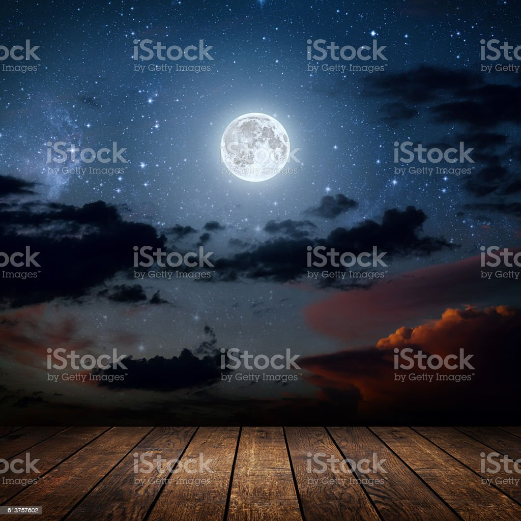 night stock photo