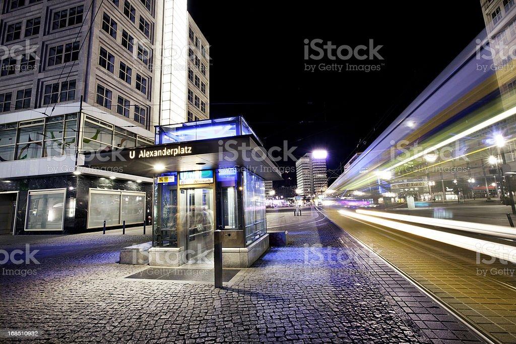 Nacht Bild von alexanderplatz – Foto