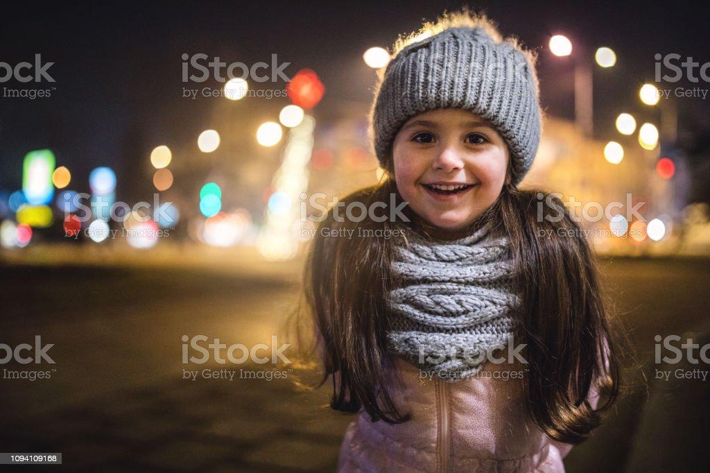 Phenomenal Night Portrait Of A Cute Little Girl With Ponytails Stock Photo Schematic Wiring Diagrams Phreekkolirunnerswayorg
