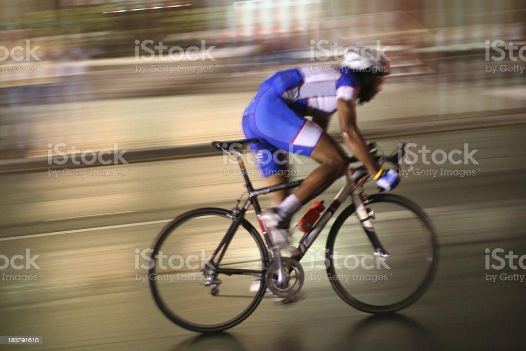Night Racing stock photo