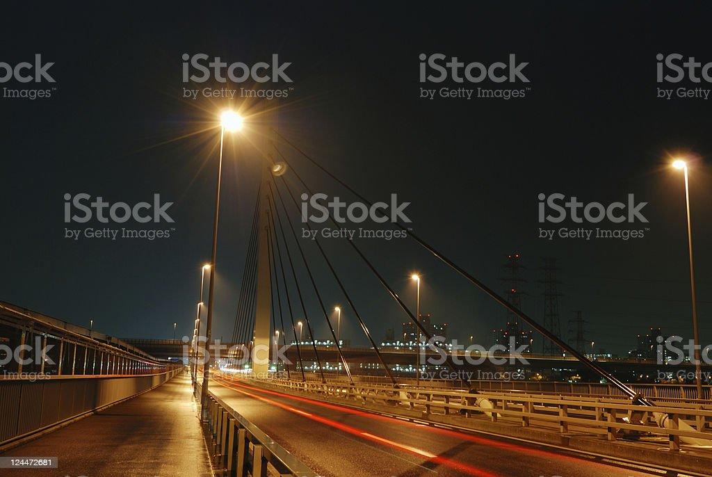 night road royalty-free stock photo