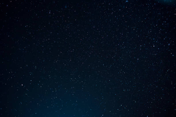 Night scape with beautiful stary sky at the high mountain. Star texture. Space background. Night scape with beautiful stary sky at the high mountain. Star texture. Space background. star space stock pictures, royalty-free photos & images