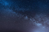 night scene milky way background