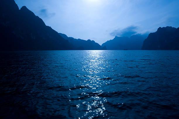Nacht Meer – Foto