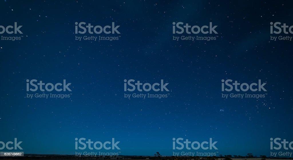 Night Sky, Hyden, Western Australia stock photo