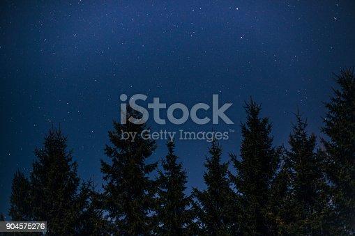 653506436istockphoto Night sky landscape 904575276