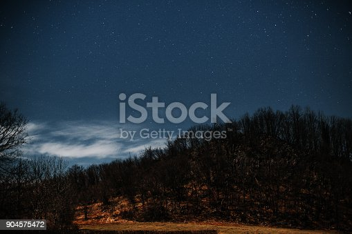 653506436 istock photo Night sky landscape 904575472
