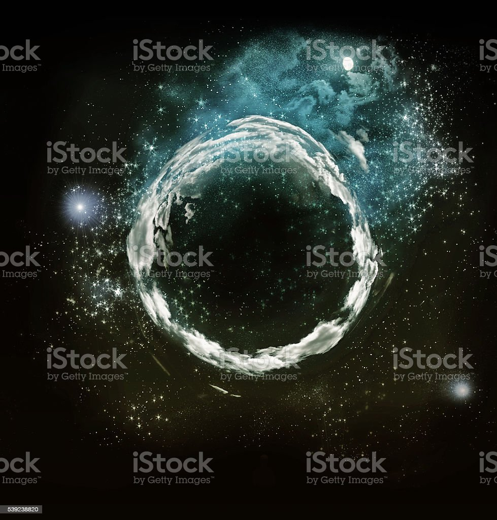 night sky royalty-free stock photo