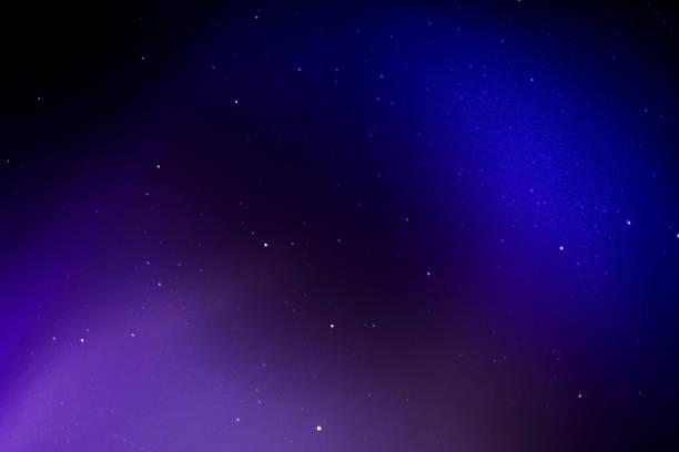 Céu noturno - foto de acervo