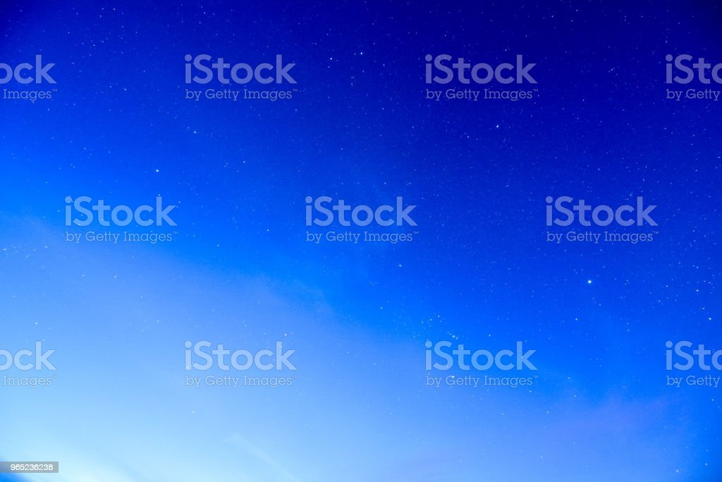 Night Sky Picture royalty-free stock photo