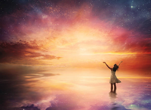 night sky praise - god stock photos and pictures