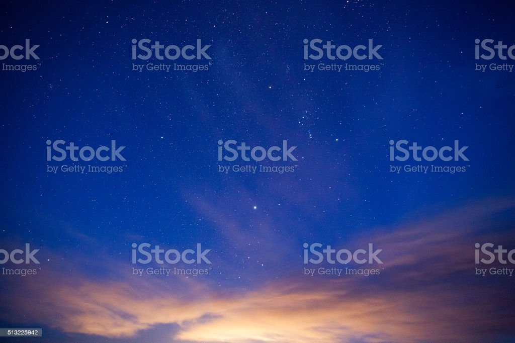 night sky simple abstract stock photo